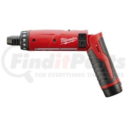 """2101-21 by MILWAUKEE - M4 1/4"""" Hex Screwdriver Kit (with 1 Battery)"""