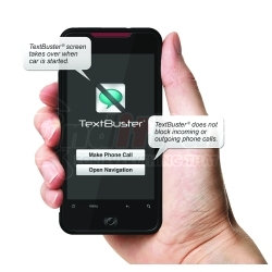TB2W by TEXTBUSTER - TextBuster® Text Blocking and Tracking Device for Vehicles