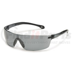 4480 by GATEWAY SAFETY - Safety Glasses, StarLite Squared, Wraparound Clear Lens and Frame, Snug Comfortable Fit