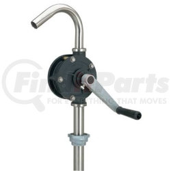 LX-1321 by AIRGAS SAFETY - Barrel Pump, Heavy Duty, Rotary, Stainless Steel, for Corrosive Fluids, 15 to 55 Gallon Drums