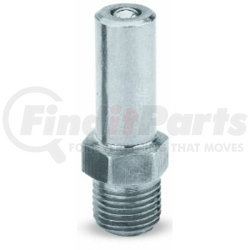 """LX-1420 by AIRGAS SAFETY - Grease Gun Filler Nipple, 1/8"""" NPT Male Threads, Zinc Plated"""