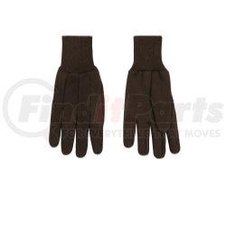 820-L by KINCO INTERNATIONAL - Brown Jersey Glove, L