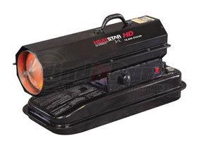 F170275 by ENERCO - HD Portable Direct-Fired Forced Air Kerosene Heater, HS75KT 75,000 BTU/HR