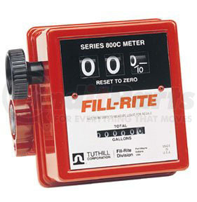 "807C by FILL-RITE - 3-Wheel Mechanical, 3/4"" Meter, 5-20 GPM"