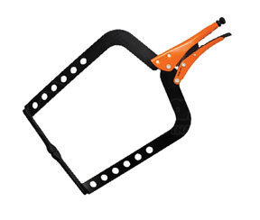 """GR13420BK by ANGLO AMERICAN ENTERPRISES CORP. - Grip-On® 20"""" Steel Long Reach C-Clamp"""
