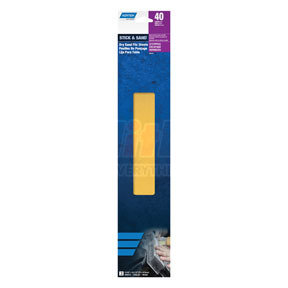 "323 by NORTON - Stick & Sand® Dry Sand 2-3/4"" x 16-1/2"" File Sheet, 40 Coarse Grit"