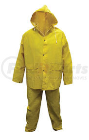 6814-01 by SAS SAFETY CORP - Heavy-Duty PVC/Polyester Rain Suit, XL