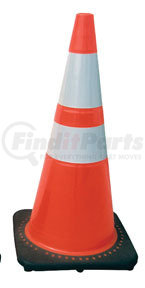 "7501-28 by SAS SAFETY CORP - 28"" Safety Cone with Reflective Bar"