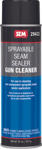 29433 by SEM PRODUCTS - Sprayable Seam Sealer Gun Cleaner