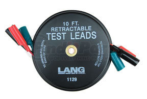 1129 by LANG - Retractable Test Leads - 3 Leads x 10'