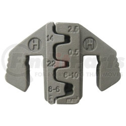 C48-5 by MOUNTAIN - H Jaw (for Ratcheting Crimper Kit), Open Barrel/D-Sub Connector 8-14 AWG