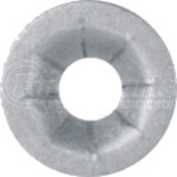 """6276 by AUTO BODY DOCTOR - Push On Type Retainer Zinc Finish, Screw size: 3/16"""" stud, 7/16"""" flange O.D., Quantity: 10"""
