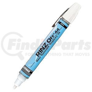 44709DY by ITW DYMON - Rinz Off® 44 Broad Tip Temporary Markers, White