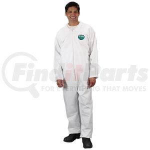 CTL417VXXLLK by LAKELAND - Lakeland MicroMax® NS Coveralls w/ Elastic Wrists & Ankles, 2X-Large, Vendor Packs, 50/Case