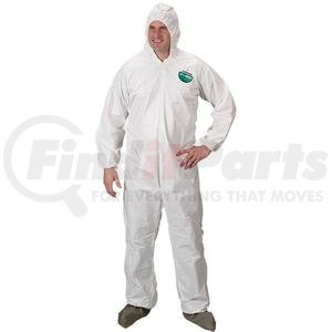 TG414LLK by LAKELAND - Lakeland MicroMax® Coveralls w/ Front Hood, Boots, & Elastic Wrists, Large