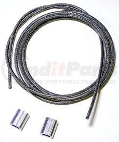 """10027 by HALDEX - Drain Valve Cable Kit - 5"""""""