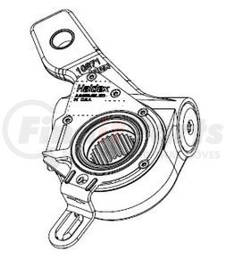 40910670 by HALDEX - Automatic Brake Adjuster (ABA) Kit