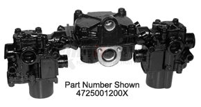4725002240X by HALDEX - Reman. Rear Axle Valve Pack with ATC Valve