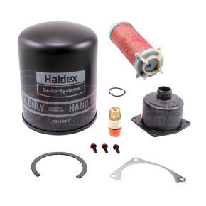 DQ6026 by HALDEX - General Service Kit for Pure Air Plus DESICCANT KIT