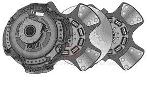 RC018EZX by HALDEX - Reman clutch