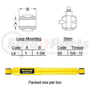 SA65400 by HALDEX - Suspension hardware