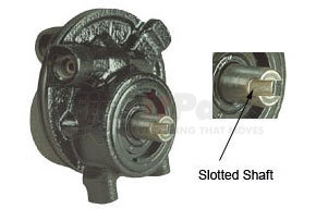 RP10401X by HALDEX - Remanufactured TRW Dodge/Early Ford Power Steering Pump - Slotted Shaft