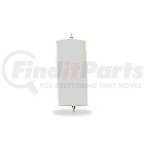 "705103 by VELVAC - Pillow Back Mirror 6.5"" x 16"", White"
