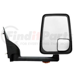 "715460 by VELVAC - Mirror - 2020 Standard Head, Black, 102"" Body, Right Side"
