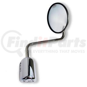 bracket mirror mount base bell mounting chrome for tripod fender mirror