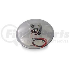 "708559 by VELVAC - Three Screw Convex Mirror 8.5"" Center Mount Convex Mirror, Stainless Steel Heated"