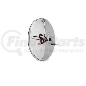 """708501 by VELVAC - Three Screw Convex Mirror 8.5"""" Center Mount Convex Mirror, Stainless Steel"""