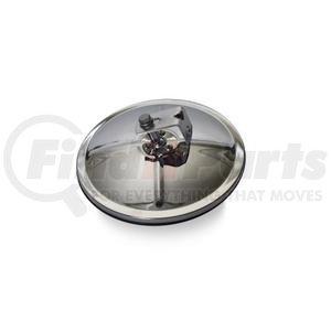 """708508 by VELVAC - Three Screw Convex Mirror 7.5"""" Center Mount Convex Mirror, Stainless Steel"""