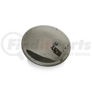 "708509 by VELVAC - Three Screw Convex Mirror 7 1/2"" Offset Mount Convex Mirrors, Stainless Steel"