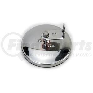 "708514 by VELVAC - Three Screw Convex Mirror 5"" Center Mount Flat Glass Mirror, Stainless Steel"