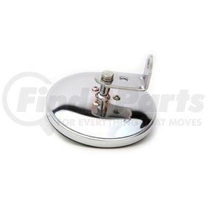 "708551 by VELVAC - Three Screw Convex Mirror 5"" Center Mount Convex Mirror, Chrome ABS"