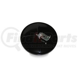 "708503 by VELVAC - Three Screw Convex Mirror 8.5"" Center Mount Convex Mirror, Black"
