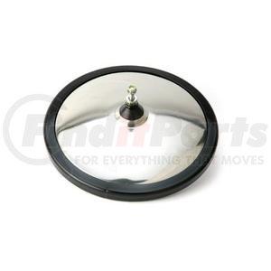 "708610 by VELVAC - K-10 Eyeball Mirror 8.5"" Eyeball Offset Stud Convex Mirror, Stainless Steel"