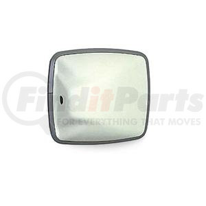 "704120 by VELVAC - Wide Angle Mirror Head 6.5"" x 6"" Side Mount Convex, PO White, Plastic"