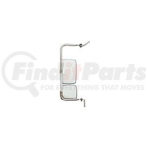 "714783 by VELVAC - USPS CRV Mirror Kit Left Side Mirror Kit, Upper Mirror 6.5"" x 10"", Lower Mirror 6.5"" x 6"""