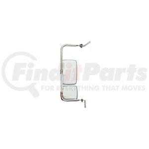 "714782 by VELVAC - USPS CRV Mirror Kit Right Side Mirror Kit, Upper Mirror 6.5"" x 10"", Lower Mirror 6.5"" x 6"""