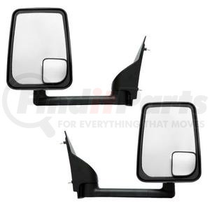 "714533 by VELVAC - Mirror - 2020 Standard Head, Black, 96"" Body, Pair"
