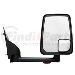 "714540 by VELVAC - Mirror - 2020 Standard Head, Black, 96"" Body, Right Side"