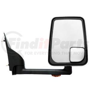 "715456 by VELVAC - Mirror - 2020 Standard Head, Black, Lighted, 96"" Body, Right Side"