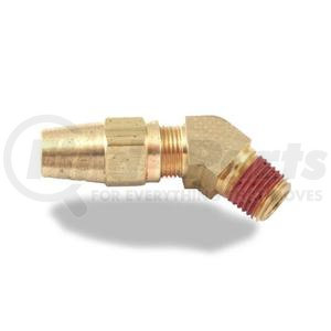 013077 by VELVAC - Air Brake Compression Fitting, 45° Male Elbow