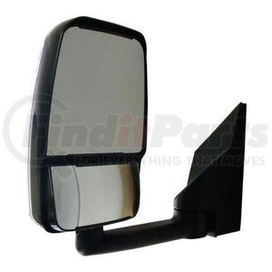 "714911 by VELVAC - Mirror - 2020 Standard Head, White, 96"" Body, Left Side"