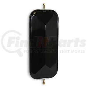 "708001 by VELVAC - V-Back Mirror 7""x16"" Standard V-Back Mirror, Black"