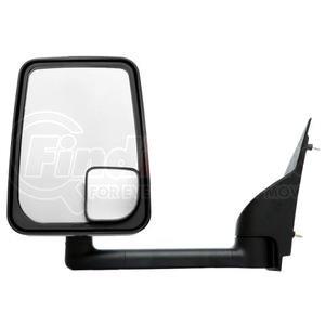 """714559 by VELVAC - Mirror - 2020 Standard Head, Black, 96"""" Body Width, Left Side"""