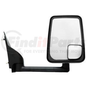 "714538 by VELVAC - Mirror - 2020 Standard Head, Black, 102"" Body, Right Side"