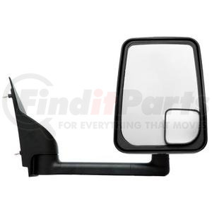 "715420 by VELVAC - Mirror - 2020 Standard Head, Black, 86"" Body, RIght Side"