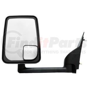"714537 by VELVAC - Mirror - 2020 Standard Head, Black, 102"" Body, Left Side"